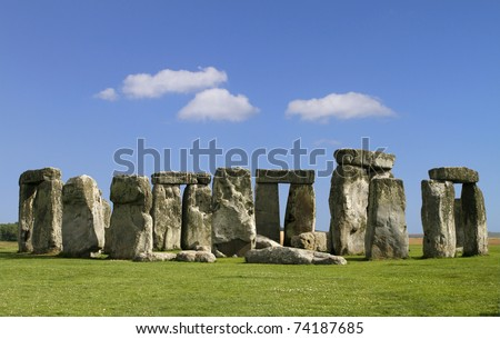 The mysterious Stonehenge in England