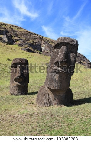 The mystery of Easter Island and the giant moai statues