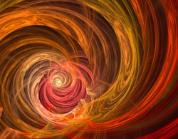 The mystical explosion of the galaxy. Mystical geometry. Screensaver. Abstract print. Science fiction design. Flaming fractal. Screen saver.