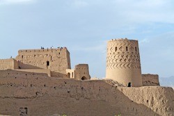The Naryn castle or Narin Castle is a mud-brick fort or castle in the town of Meybod, Iran. Structures like these constituted the government stronghold in some of the older (pre-Islamic) towns.