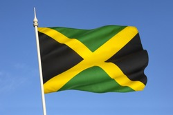 The national flag of Jamaica was adopted on August 6, 1962, the original Jamaican Independence Day, the country having gained independence from the British-protected Federation of the West Indies.