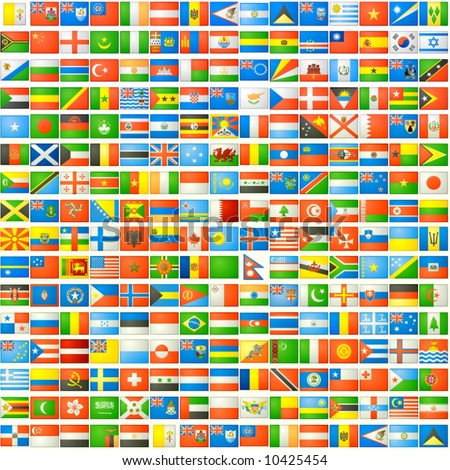the national flags background