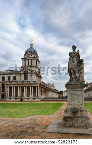 The National Maritime Museum in Greenwich, England is the leading maritime museum of the United Kingdom and may be the largest museum of its kind in the world.