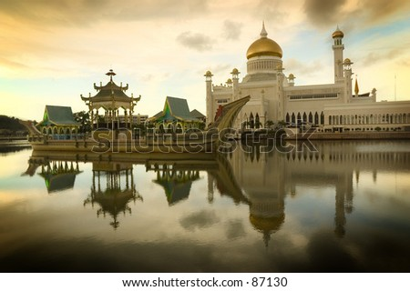 The National Mosque of Brunei