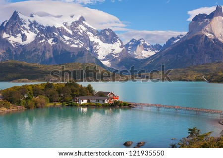 The National Park Torres del Paine, Patagonia, Chile