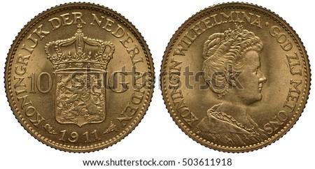 the netherlands dutch coin ten...