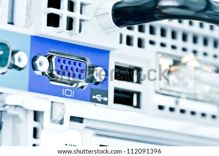 The network server and the interface