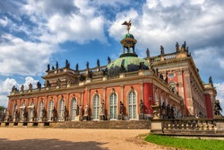 The New Palace of King Friedrich II in Potsdam, Germany