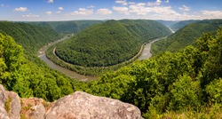 The New River at New River Gorge National Park and Preserve