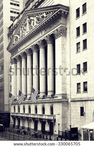 the new york stock exchange on...