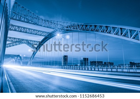 the night of modern bridge,