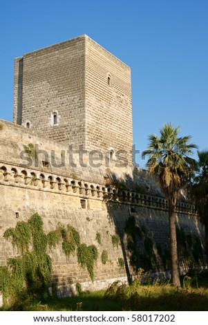 The Norman-Swabian castle of Bari was built by the Normans in the XII century and restored by Frederick II of Swabia, between 1233 and 1240.