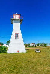 The Northport Range Rear Lighthouse, in Prince Edward Island, Canada