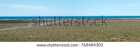 Shutterstock The Nullarbor Plain  is part of the area of flat, almost treeless, arid or semi-arid country of southern Australia