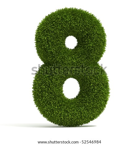The Number 8 - Grass