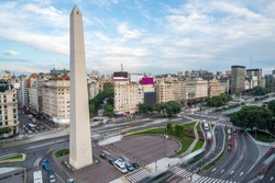 The Obelisk of Buenos Aires, centre of the city - Argentina