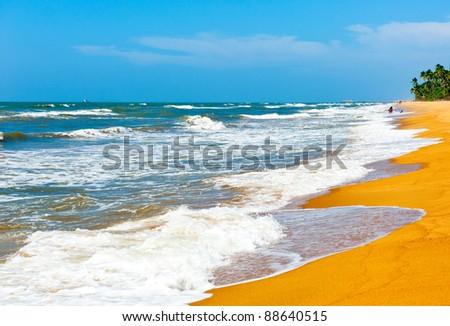 The ocean, Sri Lanka