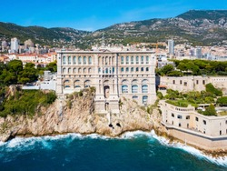 The Oceanographic Museum or Musee Oceanographique is a museum of marine sciences in Monaco Ville in Monaco