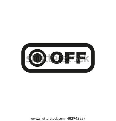 Free Photos Onoff Switch Icon Power Symbol Flat Design Avopix