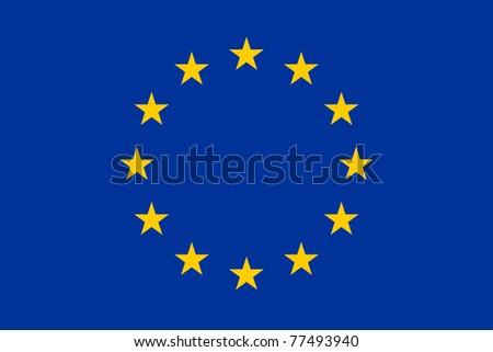 The official european union flag