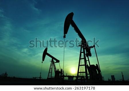 The oil pump Stockfoto ©