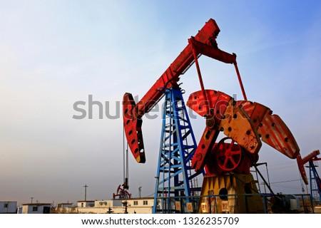 The oil pump, industrial equipment #1326235709