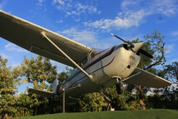 The old aircraft has been decommissioned and will be put on display for a roaring audience.