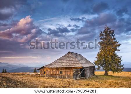 The old barnyard