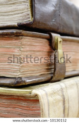The old book. The old manuscript