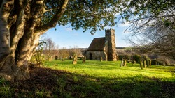 The old church of St Andrew, Upleatham - Once told to be the smallest church in England