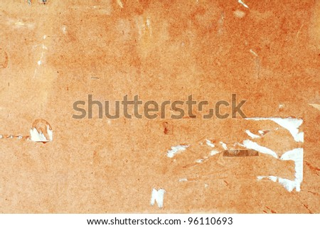 The old damaged board background