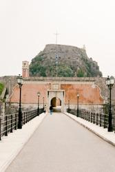 The Old Fortress of Corfu, Kerkyra, the capital of Corfu island, Greece