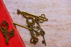 The old golden key of some lock, Spain