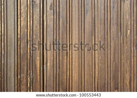 the old, grunge wood panels used as background