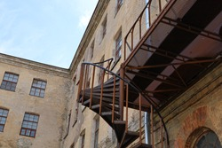 The old Kreenholm Textile Factory in Narva, Estonia, a good place for urbex