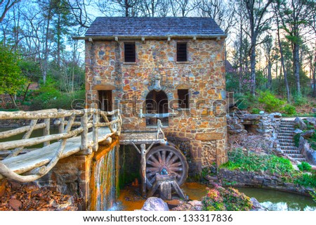 the old mill replica in n....