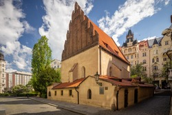 The Old-New Synagogue is the oldest active synagogue in Europe, completed in 1270 and is home of the legendary Golem of Prague