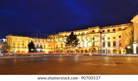 The old Royal Palace, actually National Art Museum from Bucharest,