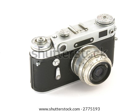 The Old Russian Analog Camera For Film Stock Photo 2775193 ...