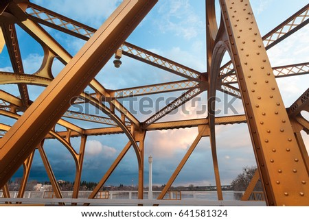 The Old Sacramento Bridge #641581324