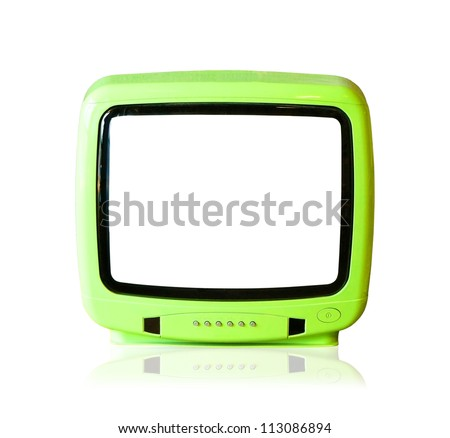 The old television