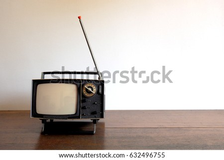 The old television #632496755