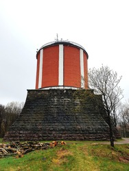 The old water tower in varberg