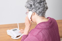 The old woman who calls