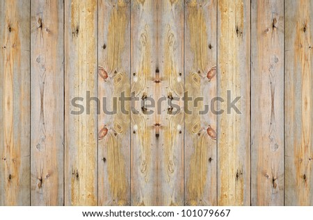 the old wood background