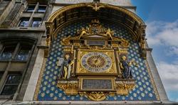 The oldest clock in Paris