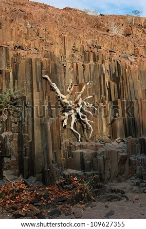 The Organ Pipes, Damaraland, Namibia