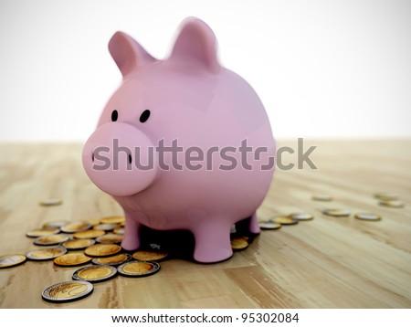 the original piggy bank