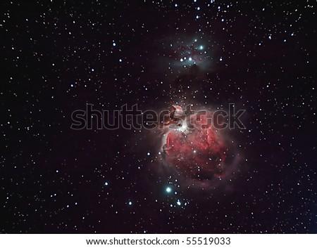 The Orion Nebula, M42