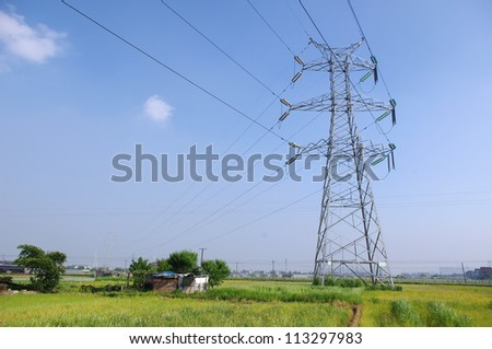 The outskirts of the power tower